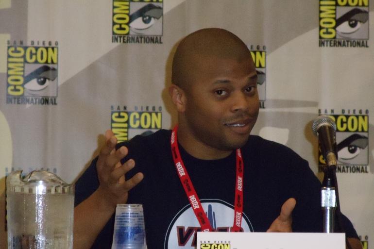 Comic-Con Panelist Justin Bolger